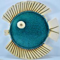 Fish Plate ceramic