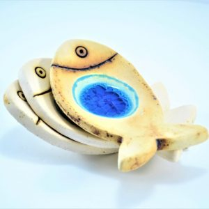 Fish Candle Holder ceramic