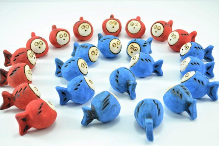 Red & Blue Nemo Fish