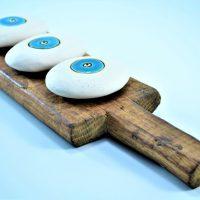 Pebble Eye Paper Weight ceramic