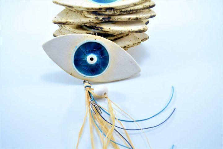 Eye with Glass ceramic