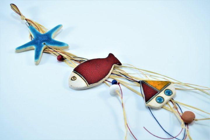 Starfish 3 pcs ceramic