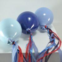 Blue Light Balloon, Blue Balloon & Lavender Balloon ceramic