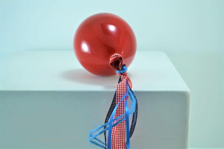 Red Balloon ceramic