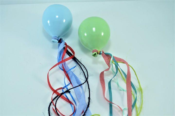 Blue Light Balloon & Pistachio Balloon ceramic