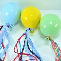 Blue Light Balloon, Yellow Balloon & Pistachio Balloon ceramic