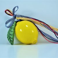 Lemon 1 pcs. ceramic