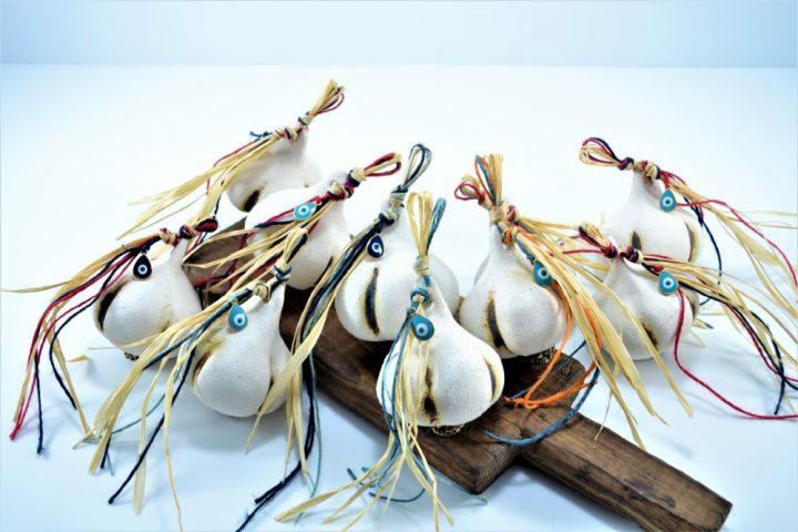 Garlic ceramic