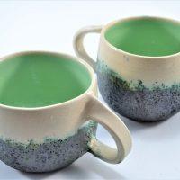 Boulder Mug Pistachio Green ceramic