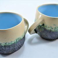 Boulder Mug Light Blue ceramic