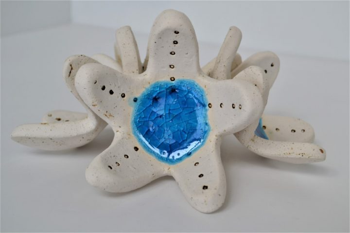 Starfish Candle Holder ceramic