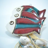 Fish Charms D ceramic