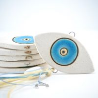 Eye Charms D ceramic