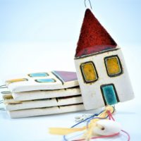 House Charms D ceramic