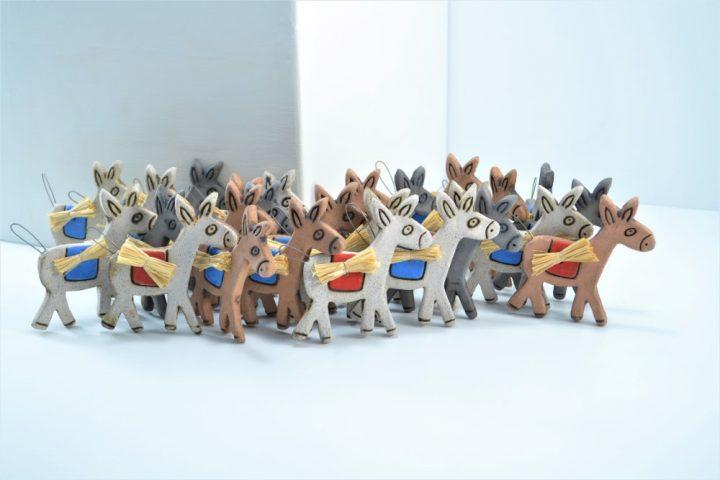Magnet Donkey ceramic