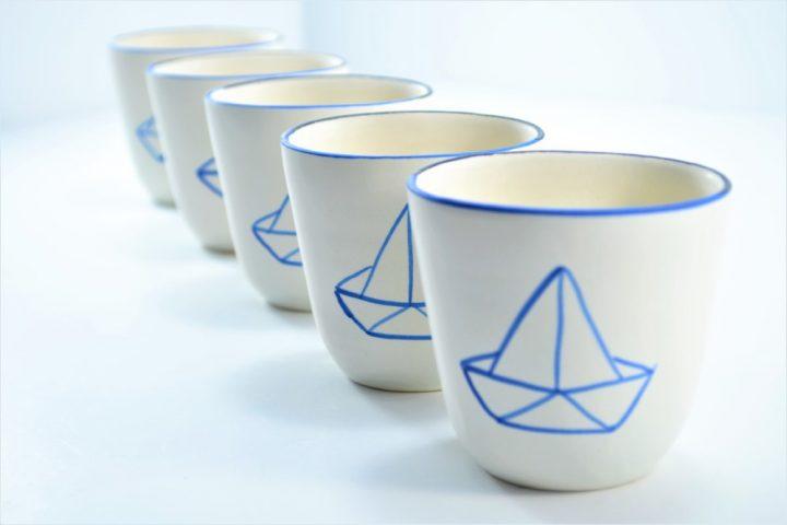 Origami Cup ceramic