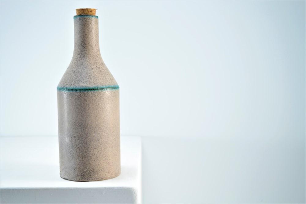 Raki Bottle ceramic