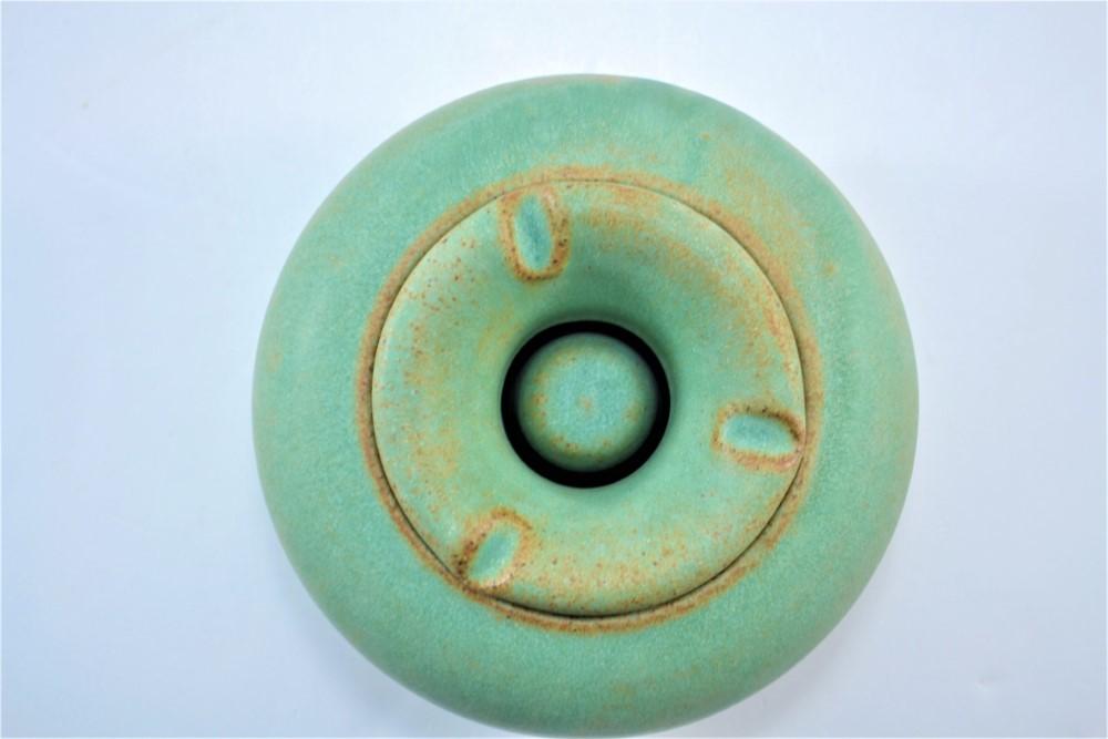 Windproof Ashtray Sumatra Green ceramic