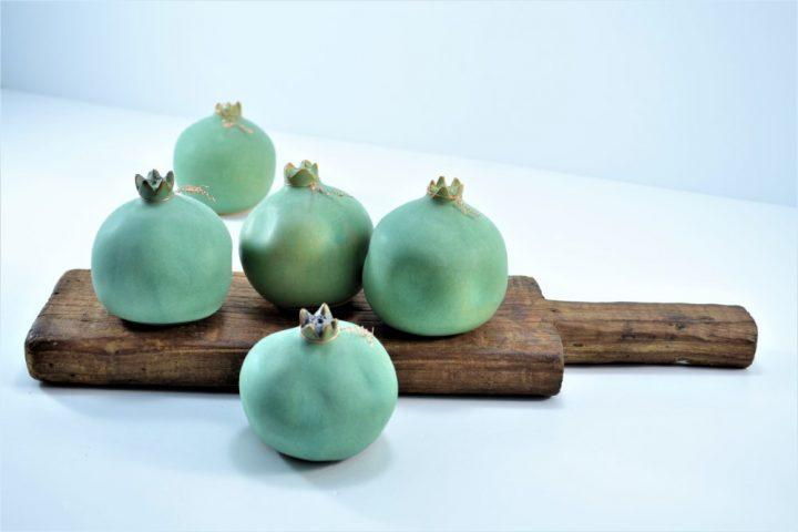 Pomegranate Sumatra Green ceramic