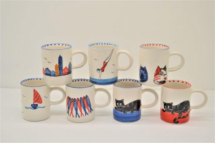Cylinder Mug ceramic