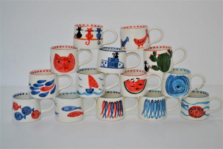 Short Conical Cup ceramic