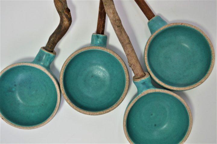 Κουτάλα Κλαδί Βαθιά Γαλάζια