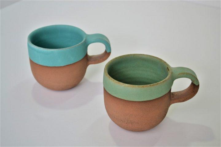 Κούπα Κύπελλο Γαλάζιο & Πράσινο Της Σουμάτρα