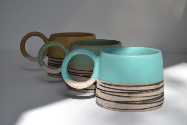 Lined Mug ceramic