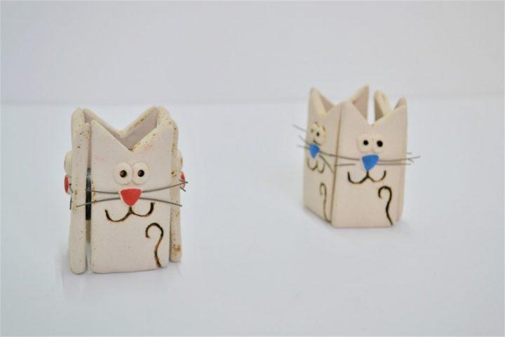Magnet Cat ceramic