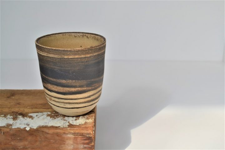 Cup - Mixed Clay Sand ceramic