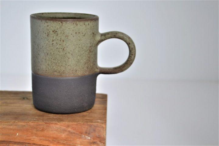 Cylinder Cup Khaki/Anthracite ceramic