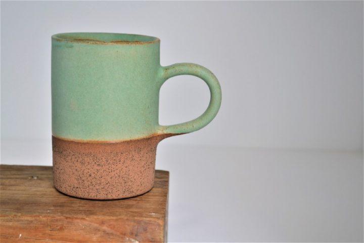 Cylinder Cup Sumatra Green ceramic