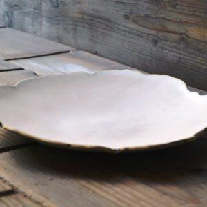 Petal Plate ceramic