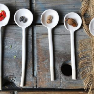 Serving Spoon ceramic