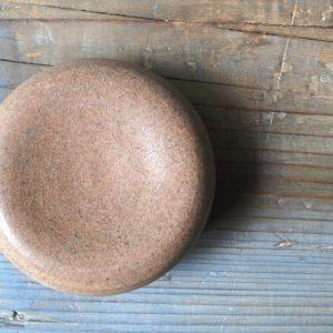 Ball Plate Ginger ceramic