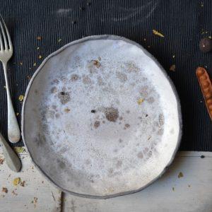 Sponge Dinner Plate ceramic