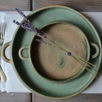 Handle Plate 'L' & 'M' ceramic