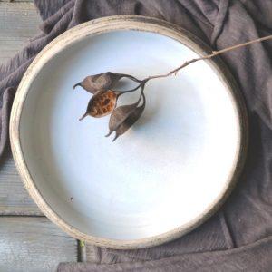 Organic Plate ceramic