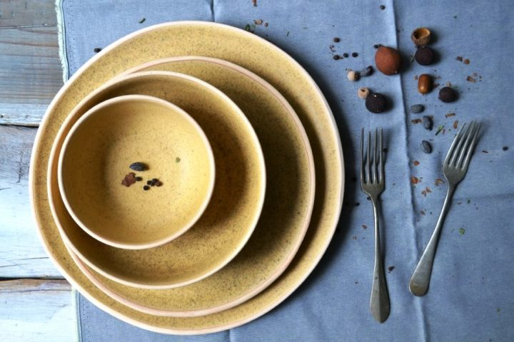 Large Dinner Plate, Dinner Plate, Salad Bowl & Ice Cream Bowl