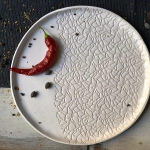 Cobweb Plate ceramic