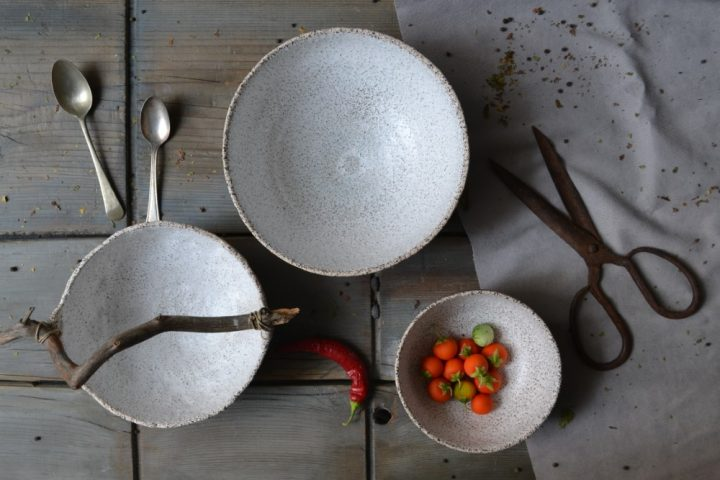Gritty Bread Bowl ceramic