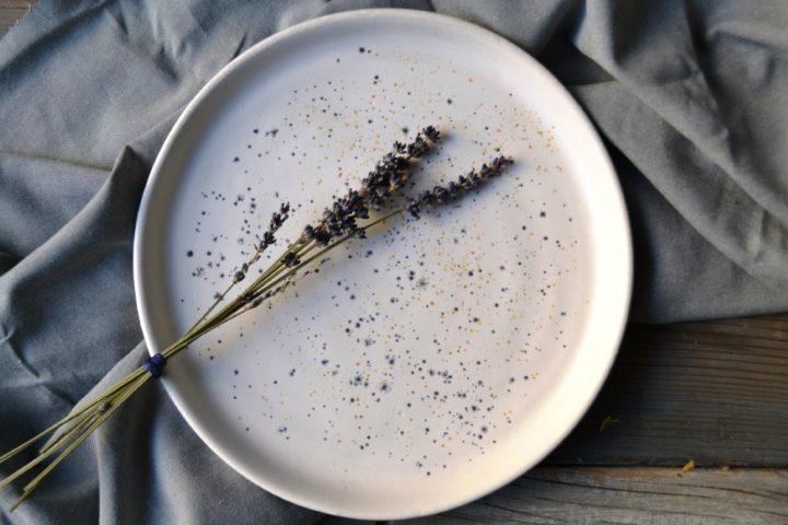 Cosmos Plate ceramic