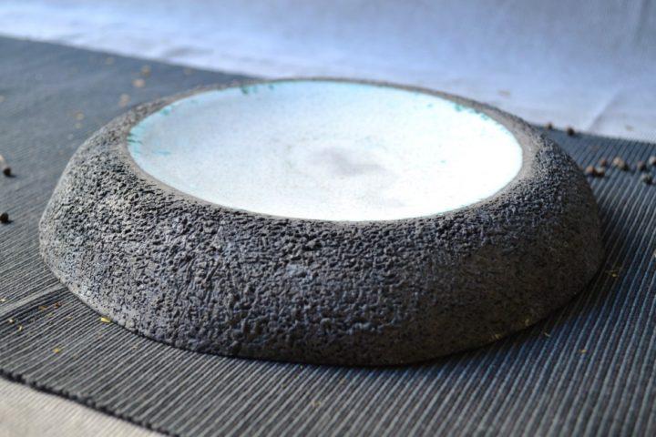 Volcano Plate ceramic