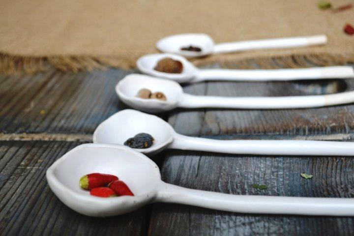 Serving Spoon ceramic
