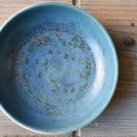 Blue Shades Shallow Bowl ceramic
