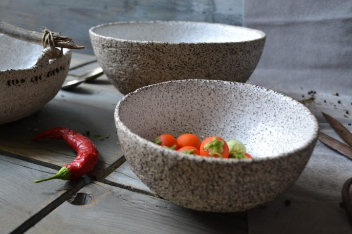Gritty Salad Bowl Small & Big ceramic
