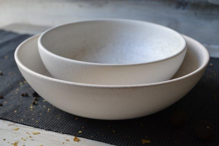 Large & Medium Salad Bowl ceramic
