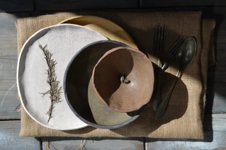 Pinched Bowl ceramic