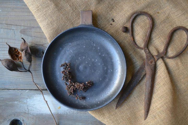 Handle Shallow Bowl ceramic