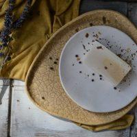 Pebble Plate ceramic
